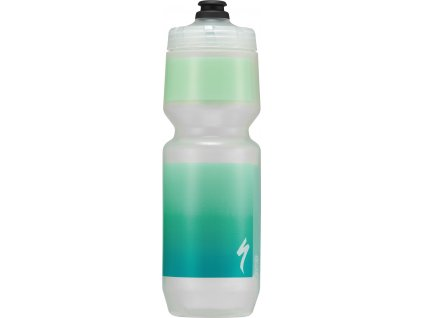 Cyklo láhev Specialized Purist MoFlo Translucent/Teal Gravity 770 ml