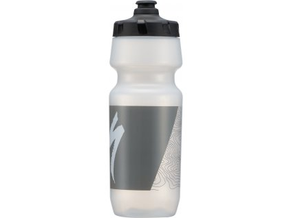 Cyklistická láhev Specialized Big Mouth transparent gry topo 700 ml