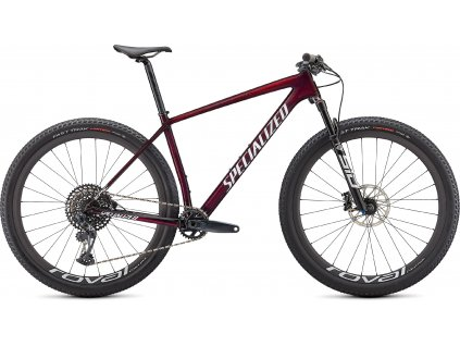 Horské kolo Specialized Epic Hardtail Expert 2021 red tint