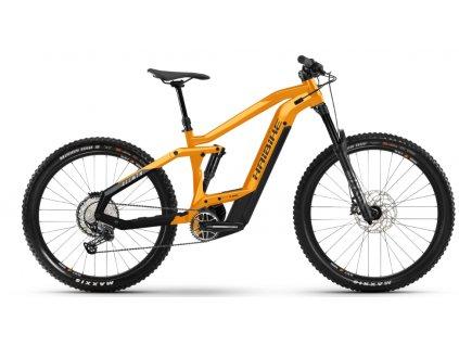 Horské celoodpružené elektrokolo Haibike AllMtn 4 2021 oranžová