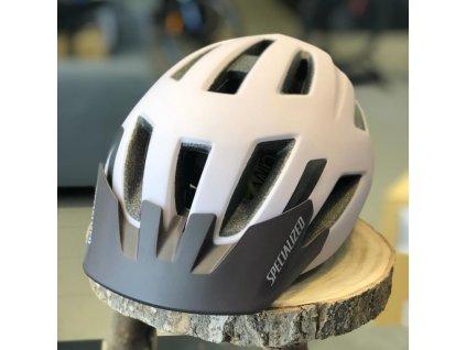 Dětská cyklistická přilba Specialized SHUFFLE Youth LED satin clay (52 – 57 cm)