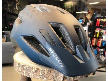 Dětská cyklistická přilba Specialized SHUFFLE Youth LED satin cast blue (52 – 57 cm)