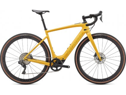 Gravel elektrokolo Specialized Turbo Creo SL Expert EVO 2021 Brassy Yellow
