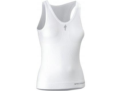 Dámské funkční tílko Specialized Expert Slvs Seamless Women's' Underwear bílé