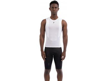 Pánské funkční tílko Specialized Men's SL Sleeveless Base Layer bílé