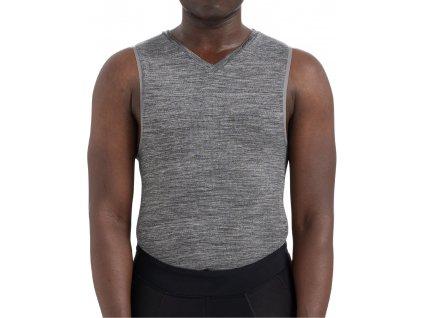 Pánské funkční tílko Specialized Men's Seamless Sleeveless Base Layer šedé