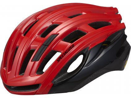 Cyklistická přilba Specialized Propero III with ANGi červená-černá