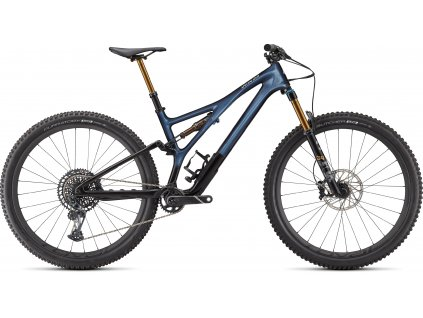 Celoodpružené kolo Specialized Stumpjumper Pro 2021 blue metallic