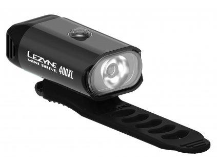 Přední světlo na kolo Lezyne MINI DRIVE 400XL