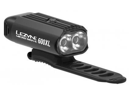 Přední světlo na kolo Lezyne MICRO DRIVE 600XL černé
