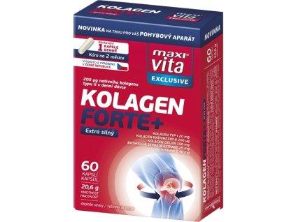 VITAR-Maxivita exclusive Kolagen Forte+, 60 kapslí