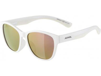 Dětské sluneční brýle Alpina Flexxy Cool Kids II bílé