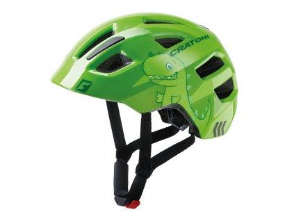 Cyklistická dětská přilba Cratoni Maxster Kid dino zelená