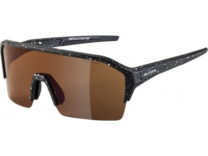 Cyklistické sportovní brýle ALPINA RAM HR Q LITE černé