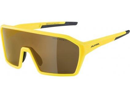 Cyklistické sportovní brýle ALPINA RAM Q LITE žlutá