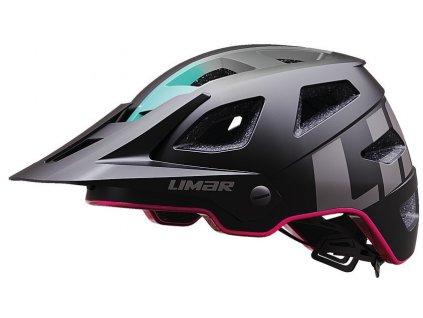 Cyklistická přilba Limar Delta matná černá růžová