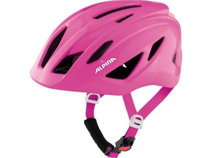 Dětská cyklistická přilba Alpina Pico Flash (50 55 cm) růžová