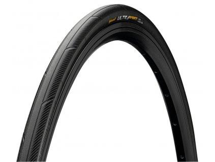 Plášť na kolo Continental Ultra Sport III skládací 23 622 700 x 23C černý
