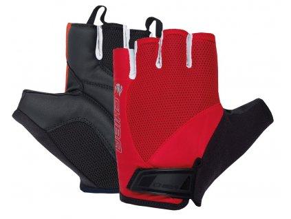 Cyklistické rukavice Chiba Sport Pro letní červené