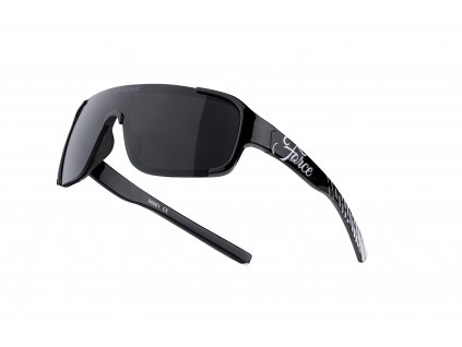 Cyklistické brýle FORCE CHIC dámské, černo bílé, černá skla