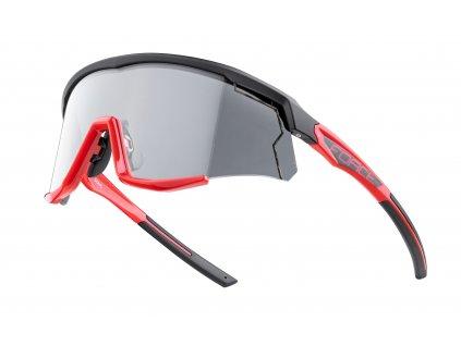 Cyklistické fotochromatické brýle FORCE SONIC černo červené
