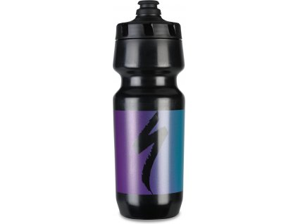 Cyklo láhev Specialized Big Mouth 700 ml Black/Purple/Blue Hero Fade
