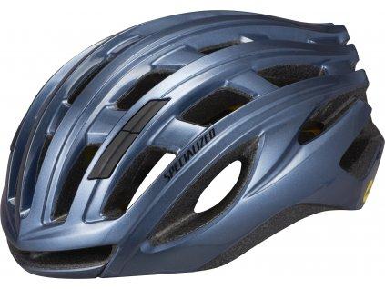 Cyklistická přilba Specialized Propero III with ANGi Gloss Cast Blue Metallic