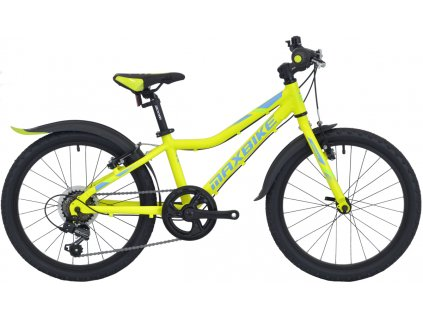 Dětské kolo Maxbike Junior MTB 20 2021 žlutá