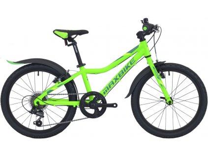 Dětské kolo Maxbike Junior MTB 20 2021 zelená