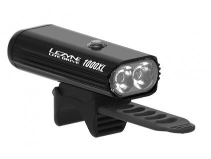 Přední světlo na kolo Lezyne LITE DRIVE 1000XL černé-HI GLOSS