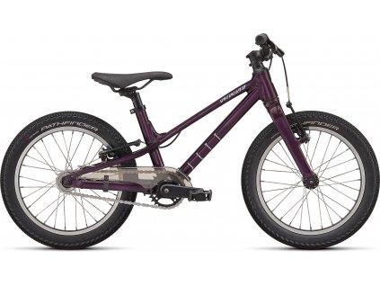 Dětské kolo Specialized Jett 16 Single Speed 2022 gloss cast berry uv lilac
