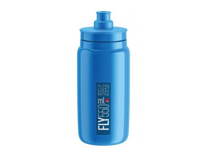 Cyklistická láhev Elite Fly modrá 550 ml