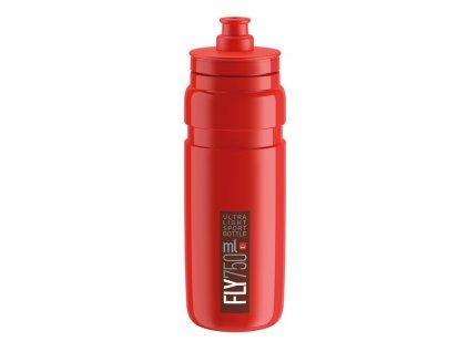 Cyklistická láhev Elite Fly červená-bordeaux 750 ml