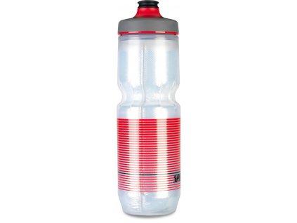 Cyklistická láhev Specialized Purist Insulated Watergate Translucent-Black-Red Straight Away 680 ml