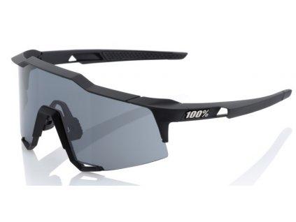Cyklistické brýle 100% Speedcraft Soft Tact Black Smoke Lens
