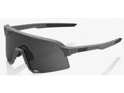 Cyklistické brýle 100% S3 Matte Cool Grey Smoke Lens