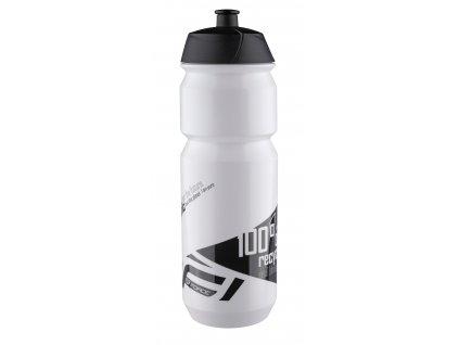 Cyklo láhev FORCE BIO bílo-černá 750 ml