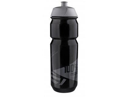 Cyklo láhev FORCE BIO černo-šedá 750 ml