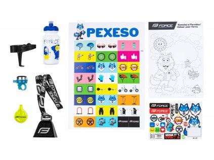Sada FORCE WOLF pro děti, mix produktů