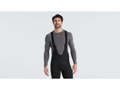 Pánské funkční triko Specialized Men's Seamless Long Sleeve Baselayer šedé