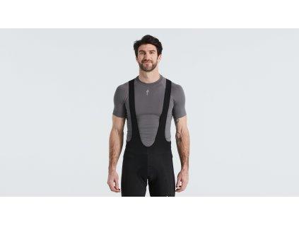 Pánské funkční triko Specialized Men's Seamless Short Sleeve Baselayer šedé
