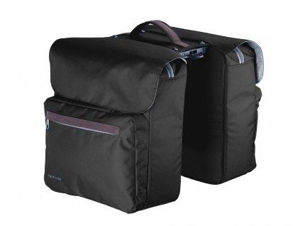 Dvojbrašna Racktime Ture černá - pouze pro zadní nosič Racktime