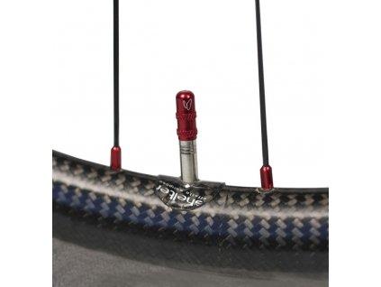Samolepka Effeto Mariposa Shelter Wheel pro galuskový otvor ventilku transparentní 1 kus
