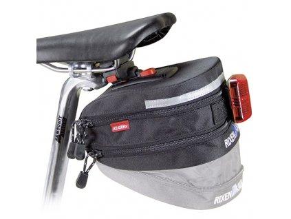 Podsedlová cyklo brašna KLICKfix Micro 200 Expandable černá