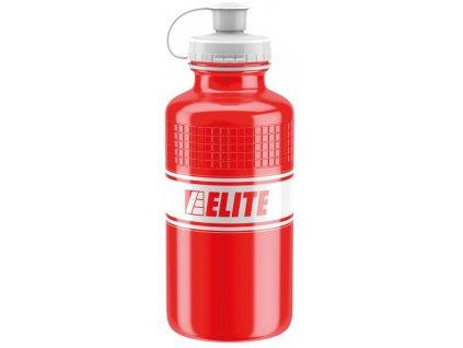 Cyklistická láhev Elite Eroica Vintage červená 500ml