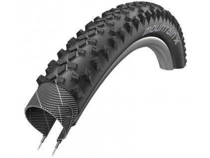 Plášť XLC MountainX 54-584, 27.5x2.10 černá