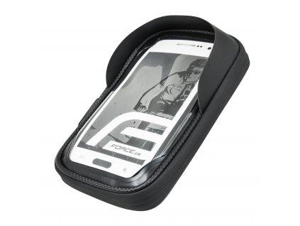 Držák – obal na telefon na řídítka FORCE TOUCH phone černá