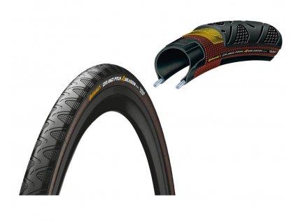 Plášť Continental Grand Prix 4 Season 700x25C,25 622 černá Dura Skin skládací