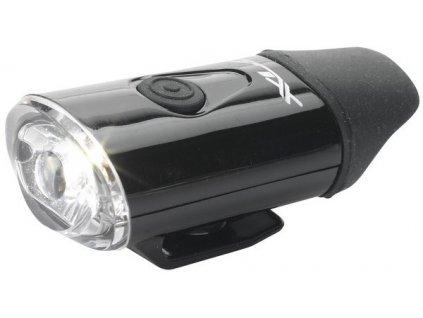 Přední světlo na helmu XLC CL-F20 černá
