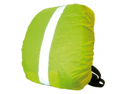 Obal na batoh Wowow žlutá, reflexní pruh